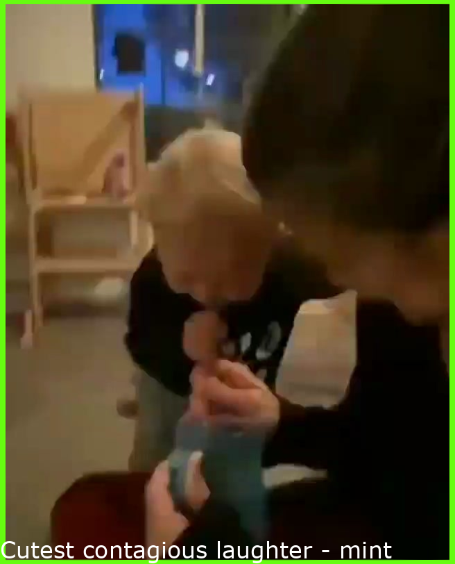 Cutest contagious laughter