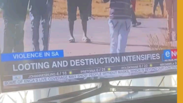 Even in the horror of it all, we in South Africa find something to laugh at.
