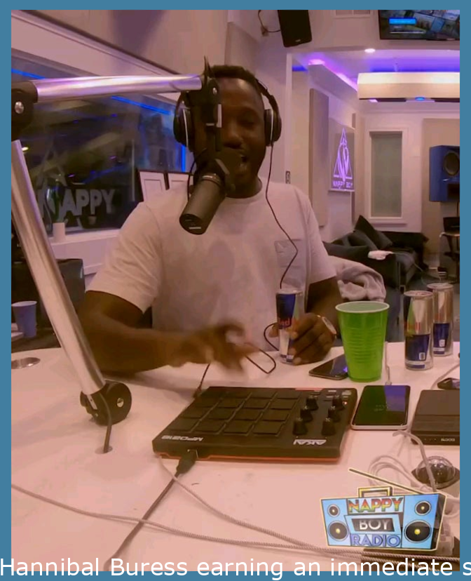 Hannibal Buress making an instant hit on T-Pain's podcast