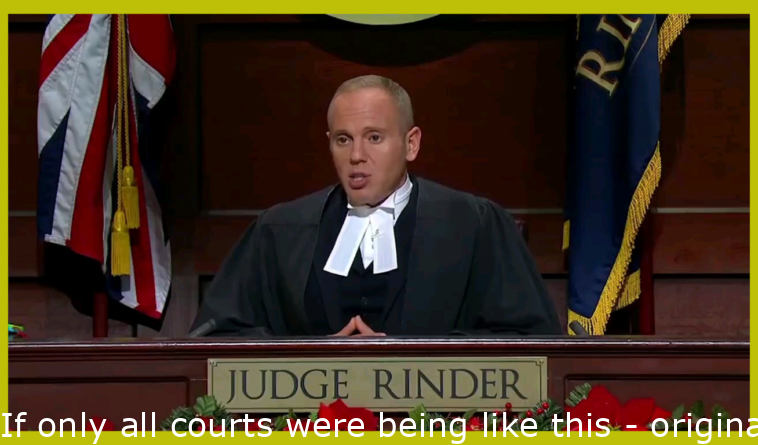 If only all courts were like this