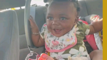 Baby laughs at mom having the audacity to tell her to sit back