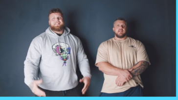 World's Strongest Man and Europe's Strongest Man play Heads Up